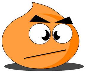 Orange Slime is Flustered by Evil-Genius-Prime