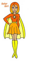 Solar Girl by Evil-Genius-Prime