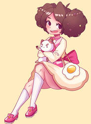 Bee And Puppycat by TeanaKitten