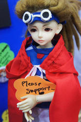 Ina11 - Kidou doll cosplay by kurailah