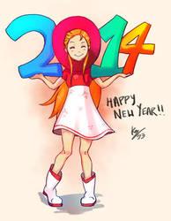 Happy 2014 by kurailah