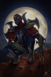 League of Legend - Zed by kurailah
