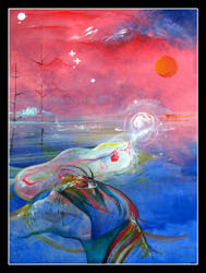 Cosmic Blob by Lascaux