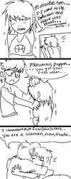Murdoc is a good father by Lascaux