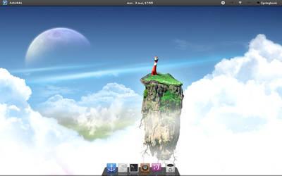 Frugalware 1.5pre1 - Gnome 3 by Springbank