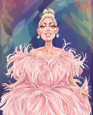 Gaga in Venice  by Alik-Melnikov