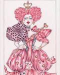 Queen of Hearts  by Alik-Melnikov