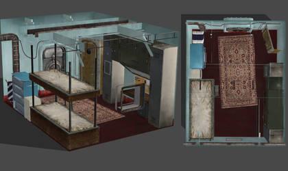 Lara's Room (Endurance) [Tomb Raider] by junkymana