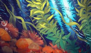kelp forest by visualkid-n