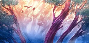 Trees by visualkid-n