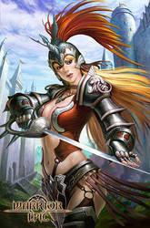 warriorgirl by lee-337