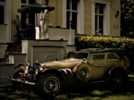 vintage car by phoelixde