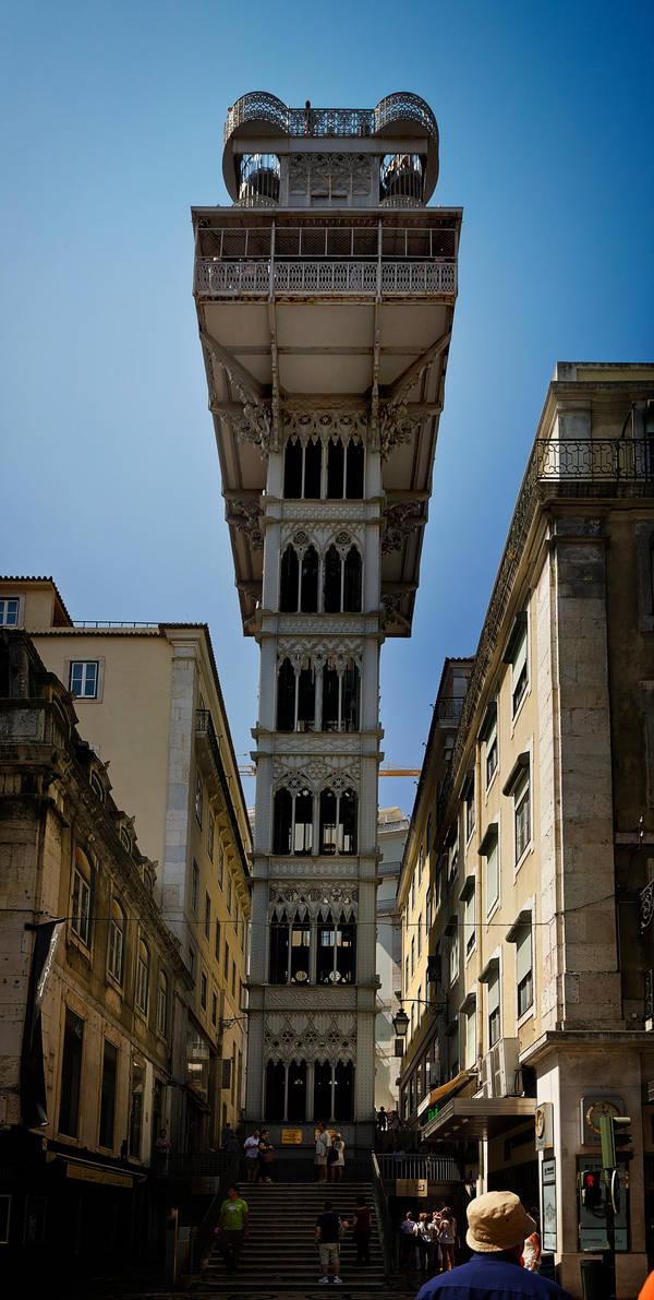 Elevador de Santa Justa by phoelixde