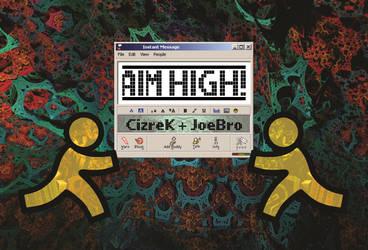 Aim High - Album Art by CizreK