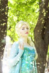 Elsa The Snow Queen by valeravalerevna
