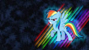 Rainbow Dash Wallpaper by piranhaplant1