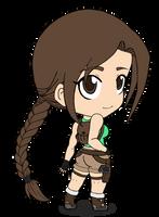 Lara Croft by Vejit