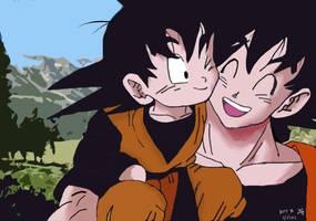 Goku - Goten by Katy0x