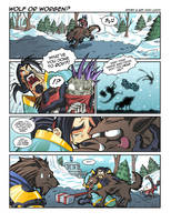 WoW Comic - Wolf or Worgen? by Lukali