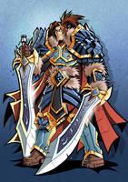 King Varian Wrynn by Lukali