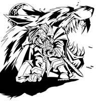 Genn Greymane - Ink by Lukali