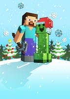 X-mas Minecraft by Lukali