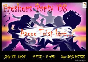Freshers' Party Invite 2008 by msahluwalia