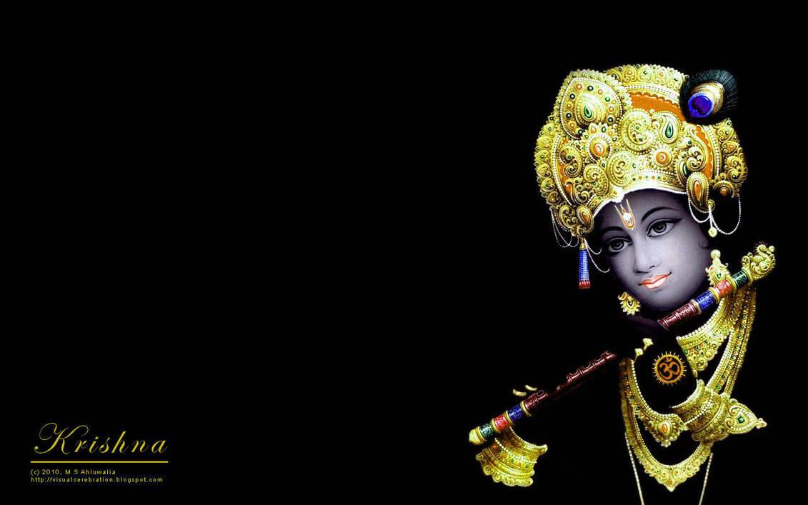 Wallpaper: Krishna by msahluwalia