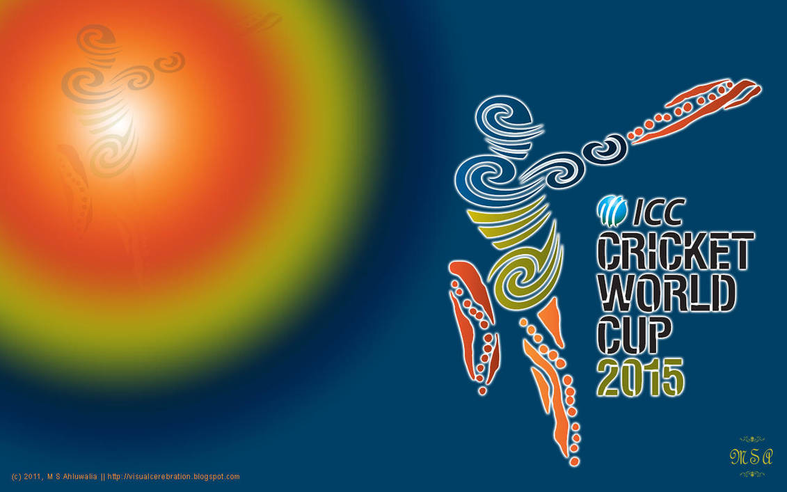 Wallpaper Icc Cricket World Cup 2015 By Msahluwalia On Deviantart