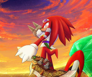 Knuckles on Sonic-Boom-HUB - DeviantArt
