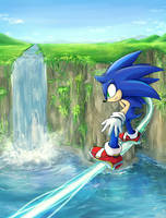 Sonic 02 by splushmaster12