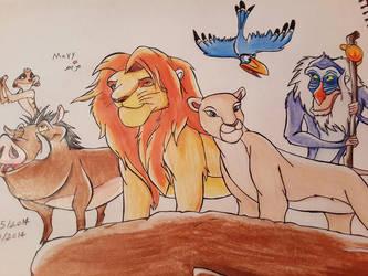 The Lion King by Laviolenta