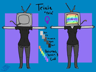 Reference Sheet: Trixie(2015) by DuchessLummina
