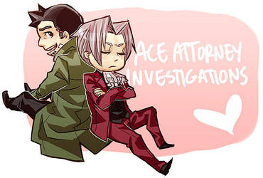 Ace Attorney Investigaaaations by soopabunnie