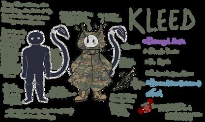 Kleed Character Sheet by LegendaryStar-Lady