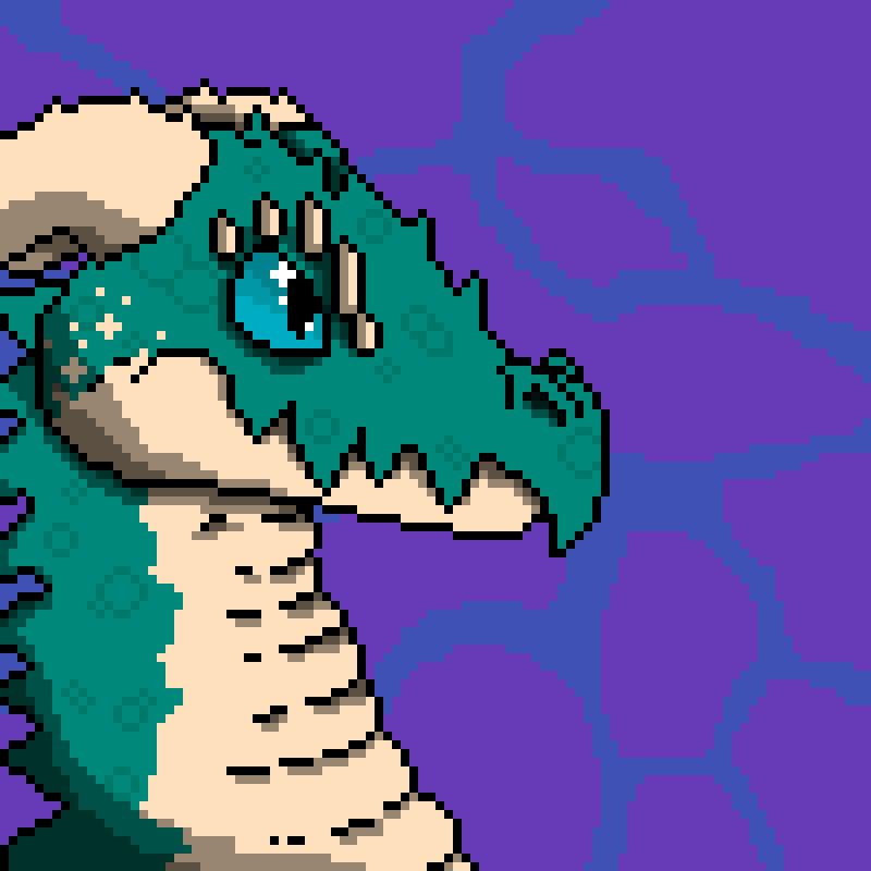 Dragon pixel art by NESSY1985