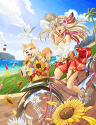 CE: Rina the Goddess of Thunder by WadeVezecha