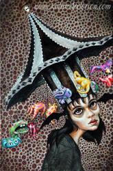 Party Hat by AmyKollarAnderson