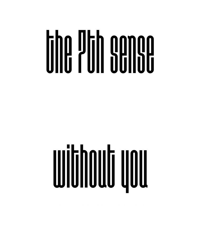[NCT U] The 7th Sense / Without You Logo - PNG by TsukinoFleur