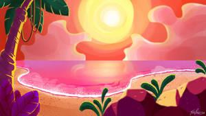 A Praia (The Beach) by krisagon