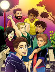 LGBT Comics! Help the project keep going! by krisagon