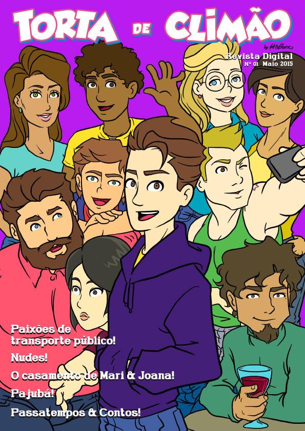 Torta de Climao magazine cover 1 by krisagon