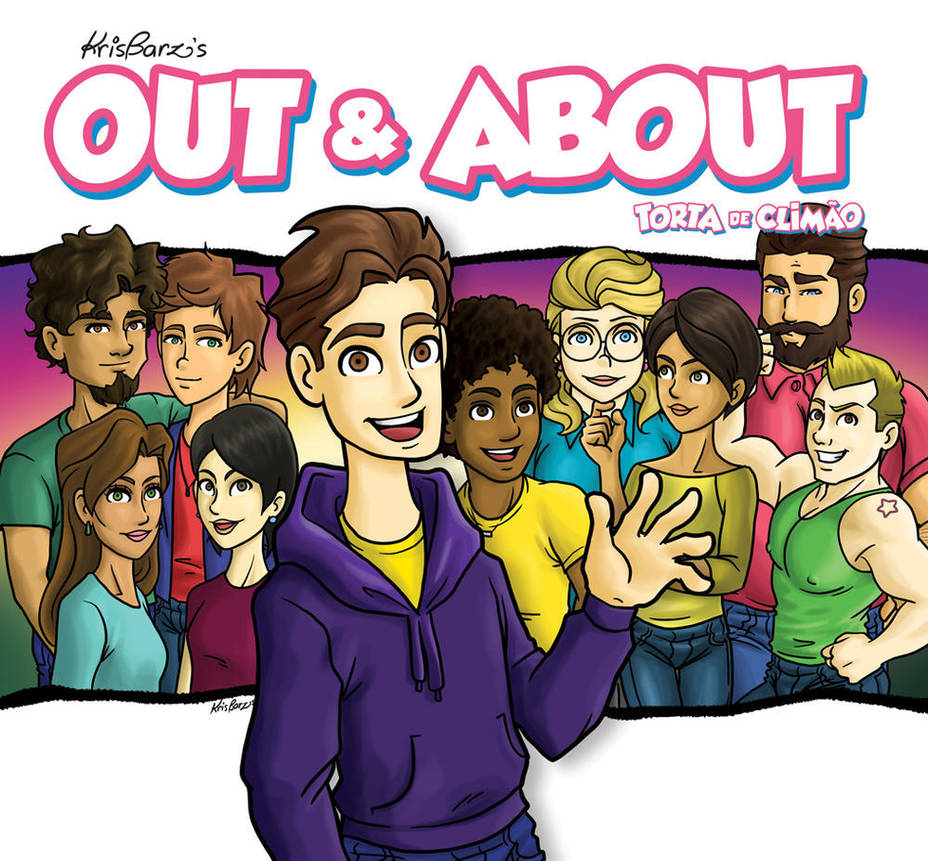 Out and About_LGBTQ comics by krisagon