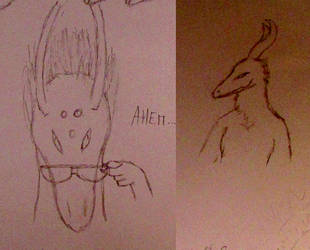 Random Sketches 5 by Vexorum