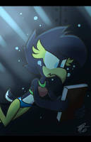 In the darkness (MediaBang remake) by DarkNeon-64