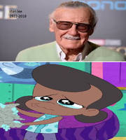 dot is sad over stan lee's death by cartoonstar92