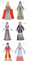 Avengers - Disney Princesses by honest-liar-13