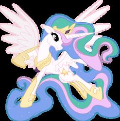 Princess Celestia - Guardians of Harmony by seahawk270