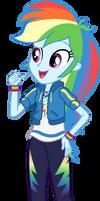 Rainbow Dash - EQG Shorts by seahawk270