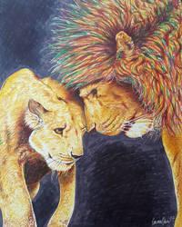 Lionlove by avaunt